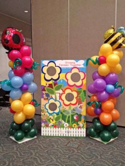Flowers & Honey Bees