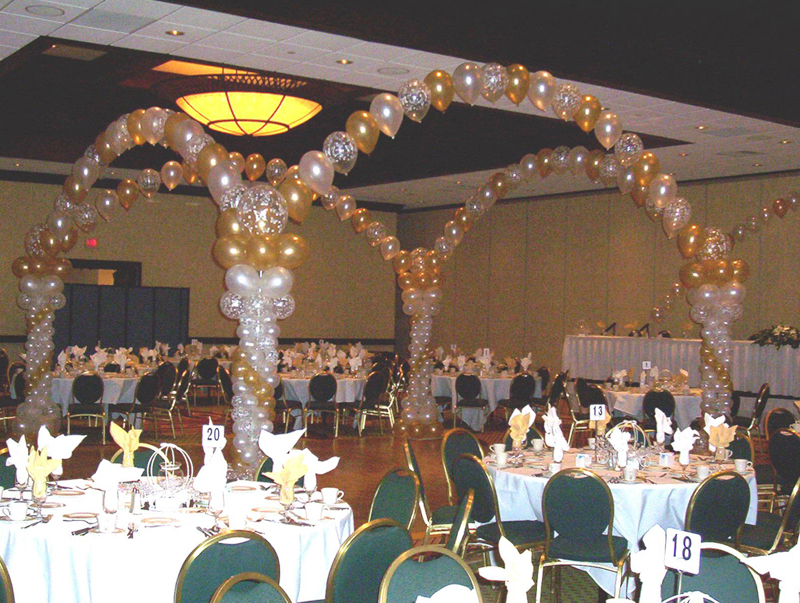 Gold & White Party