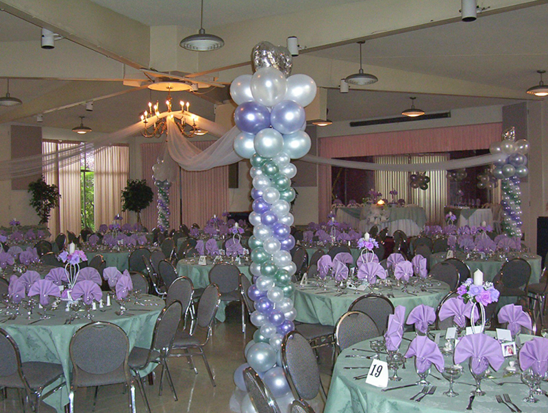 Lilac & Silver Party